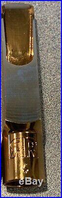 Retro-revival Eric Marienthal Special Alto Sax Mouthpiece # 6 Tip New Smoking