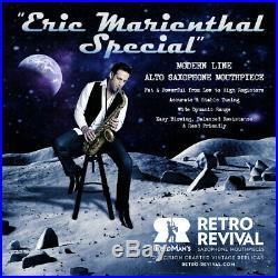 Retro-revival Eric Marienthal Special Alto Sax Mouthpiece # 7 New Matte Gold