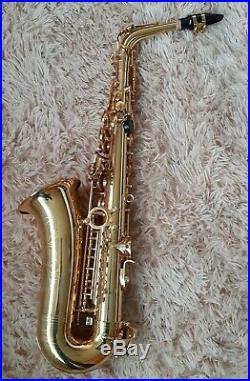 Sakkusu Alto Saxophone with hard case Ideal Beginner sax