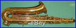 Saxophone C-melody Golden Body & Keys New Orleans DVD + 10 Reeds 2 Kivers