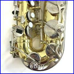 Saxophone Yamaha YAS-23 Alto Sax and Hard Yamaha Case Brass Instrument Music