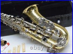 Selmer Bundy II Alto Saxophone Sax with Hard Case