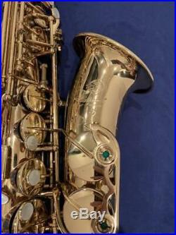 Selmer Mark VII 7 Alto Saxophone Sax Vintage Rare WithHard Case Used