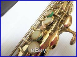 Selmer Mark VI 6 Alto Saxophone Sax Alto saxophone 150,000s with case
