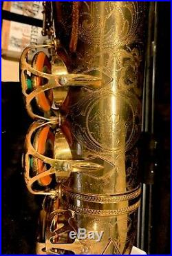 Selmer Paris Balanced Action Alto Sax Orig Lacq 21xxx New Pads Metal Resos Top