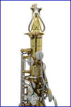 Selmer Radio Improved c. 1934 Alto Sax (19XX7)
