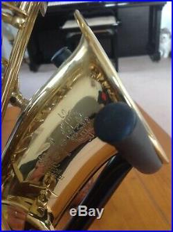 Selmer Super Action 80 Series Alto Sax Saxophone Excellent Condition Semi Rigid