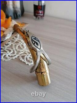 Selmer neck for Mark VII alto saxophone. Sax tudel, bocal vintage