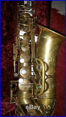 Selmer super balanced action alto sax