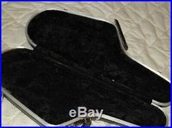 Shaped, Contoured Walt Johnson Alto Sax/Saxophone Case, Corona, CA, Good Condition