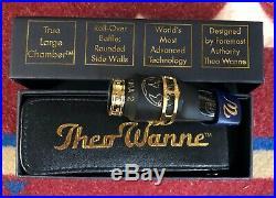 Theo Wanne GAIA 2 Alto Sax Mouthpiece. Hard Rubber. Pristine