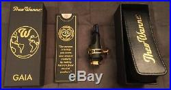 Theo Wanne Gaia 2 (Hard Rubber) 7 Alto Sax Mouthpiece with Original Packaging