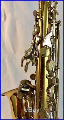 Used 1970 model Conn Eb Alto Saxophone Sax
