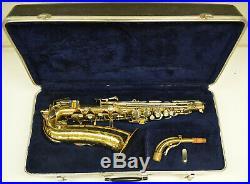 Used Buescher 400 Big Bell Alto Sax