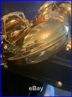 VERY NICE YAMAHA CUSTOM YAS-875EX ALTO SAXOPHONE SAX WithG-1 NECK & ORIG CASE