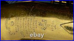 VINTAGE ANTIQUE OLD 1924 SAXOPHONE COUESNON Henri Selmer Paris CASE Alto Sax 8c