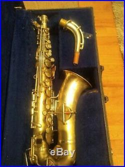 Vintage 1929-1930 King HN White Made Voll-True Alto Saxophone Sax