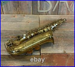 Vintage 1932 Selmer Paris Cigar Cutter Super Sax Alto Saxophone Original Papers