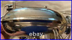 Vintage 1943 Buescher Aristocrat Big B Silver Plated Alto Sax