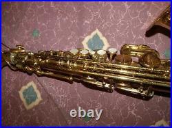 Vintage 1963 Martin Official Music Man alto sax saxophone VG+ 80+% orig lacquer