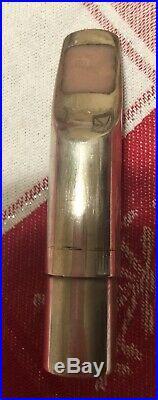Vintage 1980s handmade Guardala alto sax mouthpiece