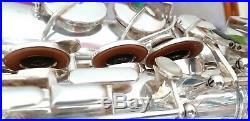 Vintage 80's alto saxophone Selmer silver plated mark vi sound, overhauled sax