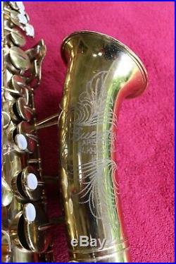 Vintage Buescher Aristocrat alto sax