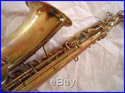 Vintage Buescher True Tone Alto Sax