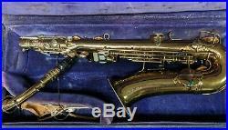 Vintage CG CONN Alto SAX saxaphone PREOWNED, GREAT CONDITION