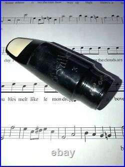 Vintage Carlsbad, CA Brilhart 3 Alto Sax Mouthpiece. 065
