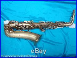 Vintage Conn 6M Lady Face-Naked Lady-Alto Sax-c. 1952-Plays Great! Beautiful