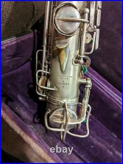 Vintage Conn Alto Saxophone Sax