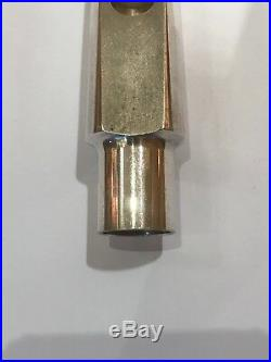Vintage Peter Ponzol Super 90 metal alto sax mouthpiece