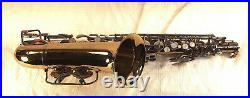 Vintage Selmer Bundy Alto Sax Saxophone with Case in Good Playing Condition