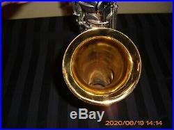 Vintage Selmer Bundy Alto Saxophone Sax Made in USA With Precieua Gig Bag