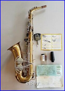Vintage Selmer Bundy USA Alto Sax Saxophone Excellent Condition 1970's
