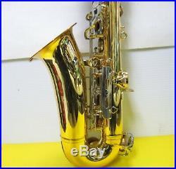 Vito Alto Saxophone Made in Japan with case Alto Sax