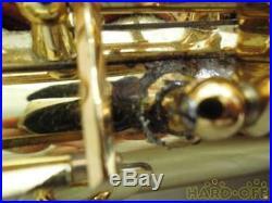 YAMAHA Alto Saxophone Sax YAS-62II Used WithHard Case Mouthpiece Strap