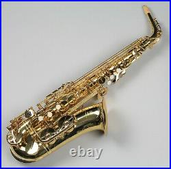 YAMAHA YAS-62 Alto Sax Saxophone YAS-62III Gold lacquer with Case EMS Tracking NEW