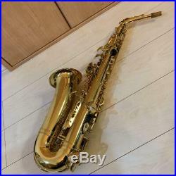 YAMAHA YAS-62 YAS62 Alto Saxophone Sax Tested Used With Hard Case Ex++