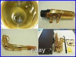 YAMAHA YAS-62 YAS62 Alto Saxophone Sax Tested With Hard Case Used