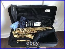 Yamaha Allegro YAS-580AL Alto Saxophone 580 Sax With Vandoren AL3 MP + More Nice