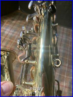 Yamaha YAS23 Used Alto Saxophone Sax Student Nice, No Case Included