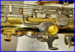 Yamaha YAS-21 Student Model Alto Sax With Hard Shell Case Ready To Play