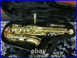 Yamaha YAS-62 Purple Logo Alto Sax with Super Tone 5 Star MTPC
