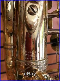 Yamaha YAS 62 Purple logo Alto Sax