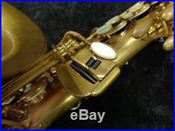 Yamaha YAS-82Z Custom Z Un-Lacquered No High F# Alto Sax, Serial #C42975