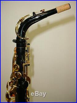 Yamaha YAS-82Z II Custom Z Alto Saxophone Sax Black Lacquer