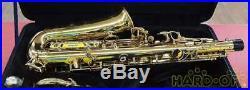 Yanagisawa A-WO10 AWO10 Alto Saxophone Sax With Case Mouthpiece Japan Used Ex++