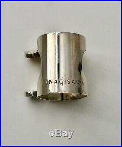 Yanagisawa Metal Mouthpiece For Alto Sax Size 7 With Lig And Cap